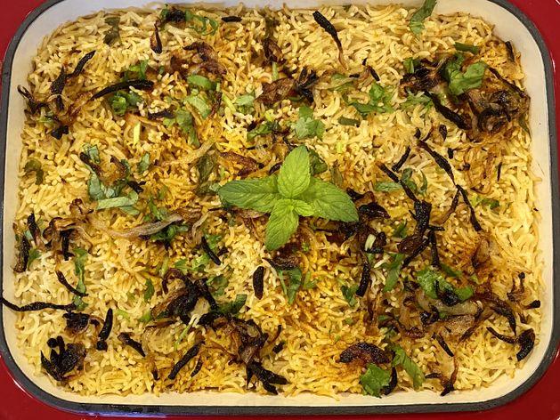 Chicken Biryani wide display