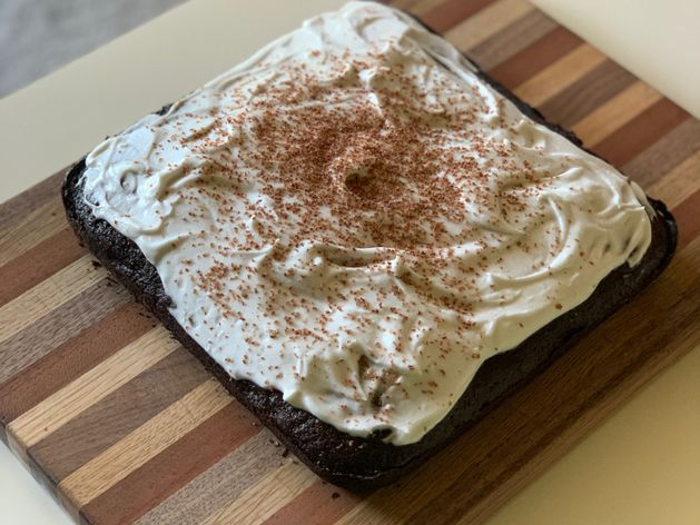Chocolate Wacky Cake wide display
