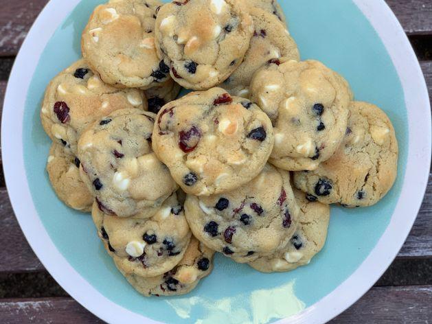 Red White & Blue Cookies wide display