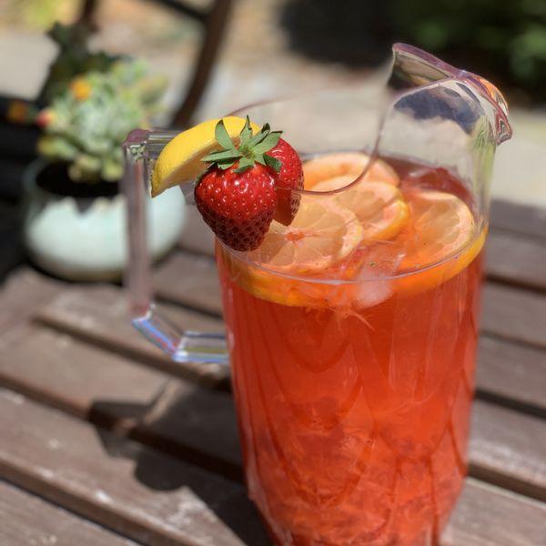 Roasted Strawberry Lemonade wide display