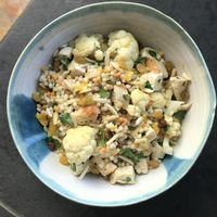 Couscous with Chicken and Cauliflower