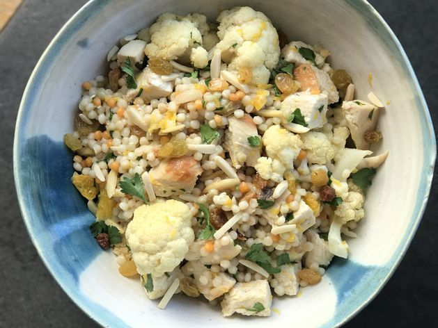 Couscous with Chicken and Cauliflower wide display