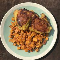 Turmeric Chicken with Sweet Potatoes