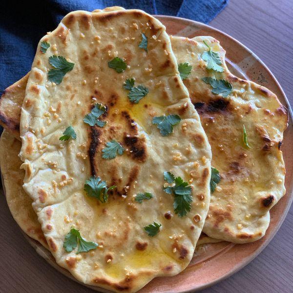 Garlic Naan wide display