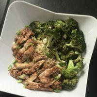 Teriyaki Chicken with Broccoli