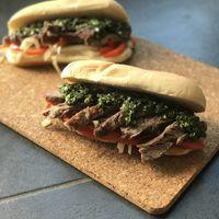 Chimichurri Steak Sandwiches
