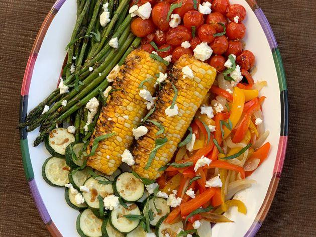 Roasted Vegetable Medley wide display