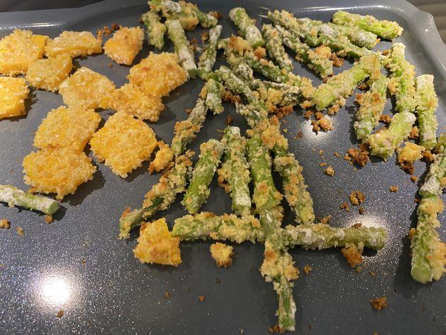 oven baked vege tempura wide display