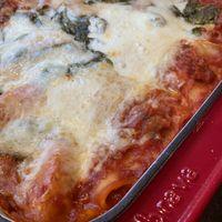 Lasagna Bolognese by George Duran