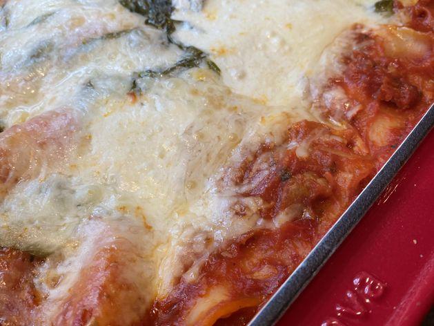 Lasagna Bolognese by George Duran wide display