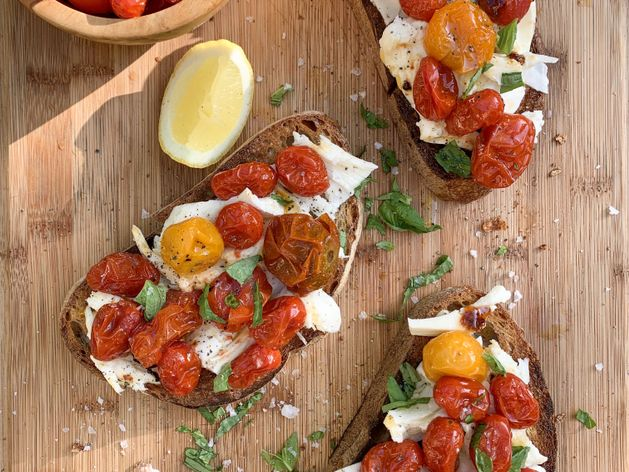 Roasted Tomato Caprese wide display