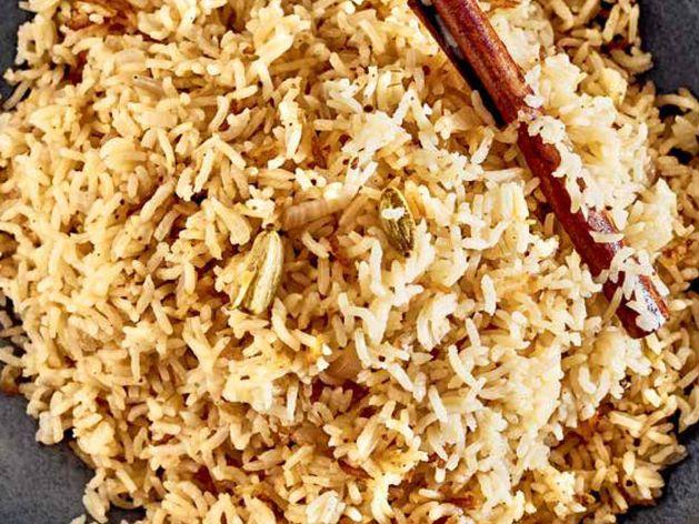 Zanzibar Pilau (Rice Pilaf) wide display