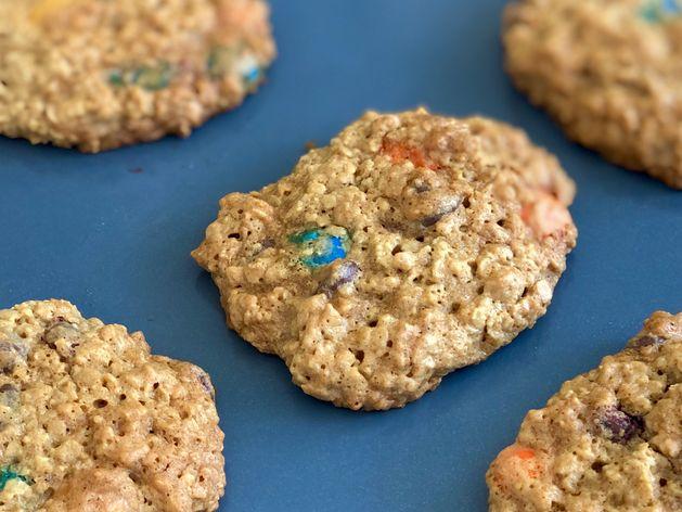 Gluten-Free Monster Cookies wide display