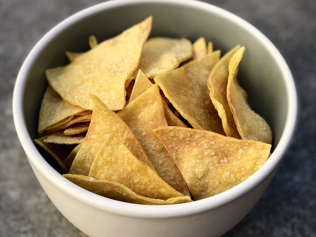 Tortilla Chips wide display
