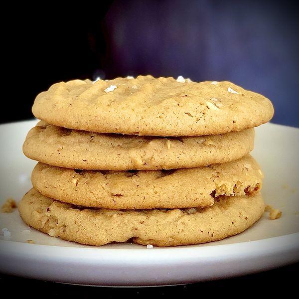 Peanut Butter Cookies wide display