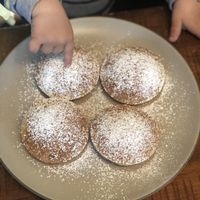 Cinnamon-Apple Mini Pancake Muffins