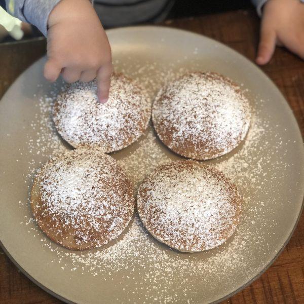 Cinnamon-Apple Mini Pancake Muffins wide display