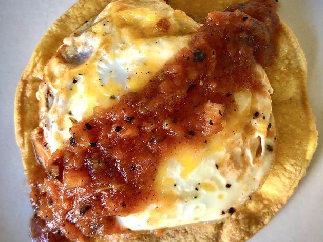 Huevos Rancheros wide display