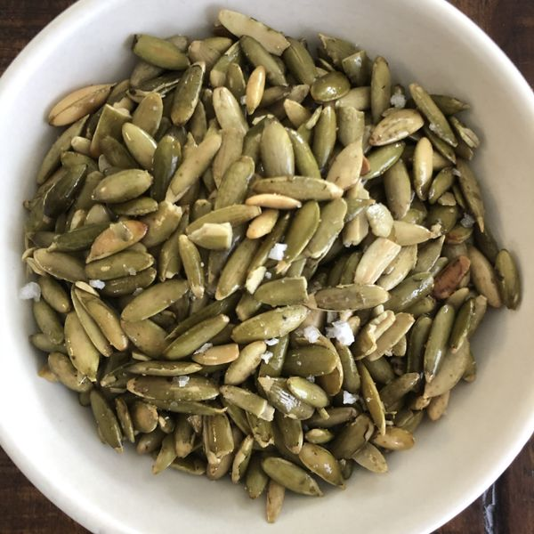 Savory Spiced Nuts and Seeds wide display