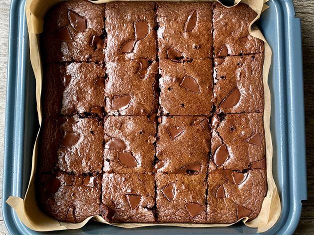 Chef Vanessa Musi Paleo Brownies wide display