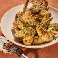 Chicken Wings in Garlic Butter