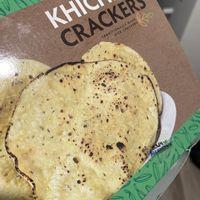 2 Air-Fried Traditional Indian Rice Cracker (Kichiya Papad)