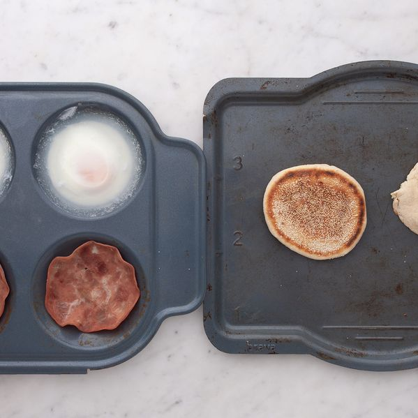 Eggs Benedict with English Muffins narrow display