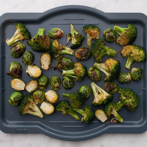 Broccoli and Brussels Sprouts narrow display