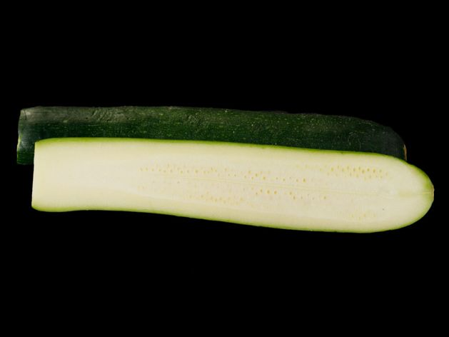 Zucchini wide display