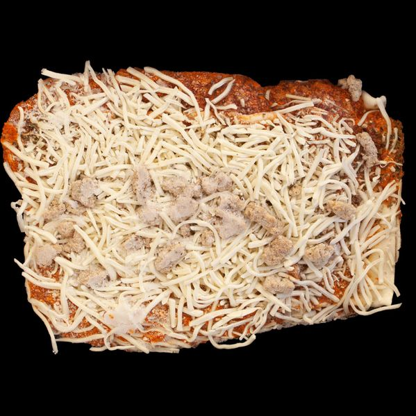 Costco Frozen Italian Sausage and Beef Lasagna narrow display