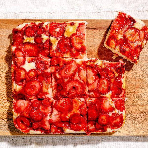 Strawberry Upside-Down Cake narrow display