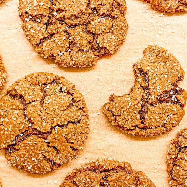 Ginger Molasses Cookies narrow display