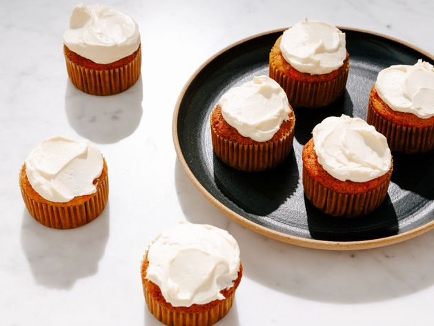 Carrot Cupcakes wide display