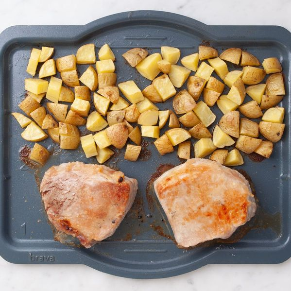 Pork Chops (Boneless) and Potatoes narrow display