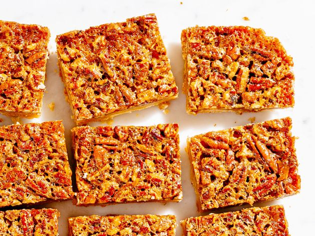 Pecan Bars wide display
