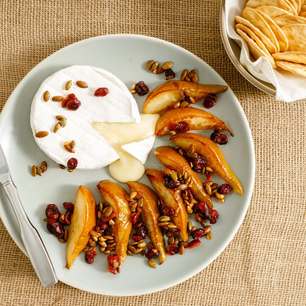 Baked Brie and Roasted Pear narrow display