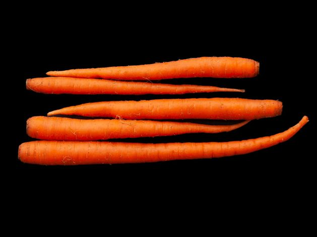 Carrots wide display