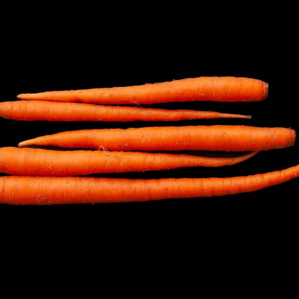 Carrots narrow display