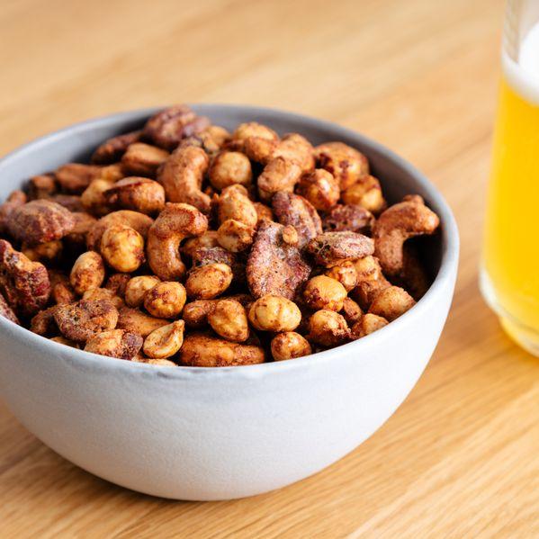 Brava Spiced Nuts narrow display