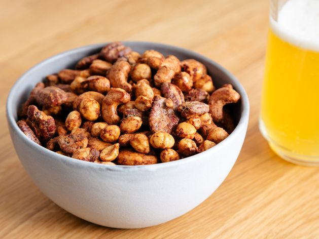 Brava Spiced Nuts wide display