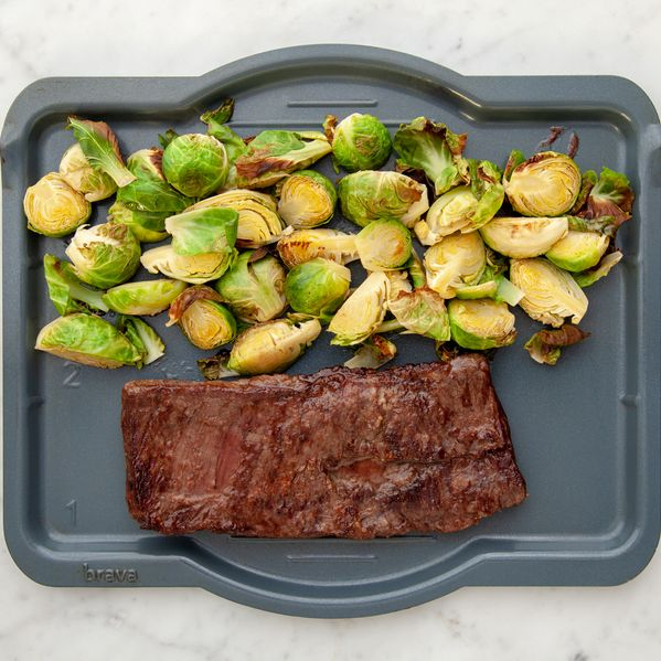 Skirt Steak and Brussels Sprouts narrow display