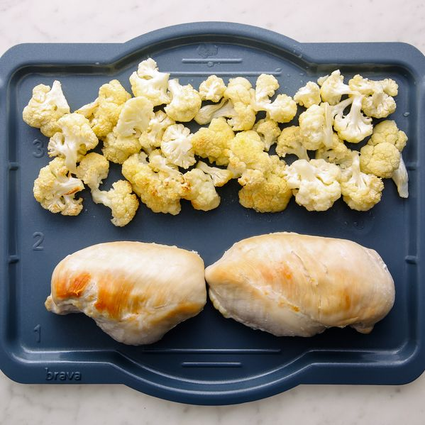 Chicken Breasts and Cauliflower narrow display