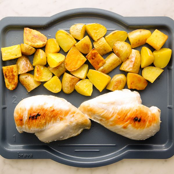 Chicken Breasts and Potatoes narrow display
