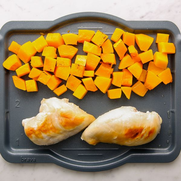Chicken Breasts and Butternut Squash narrow display