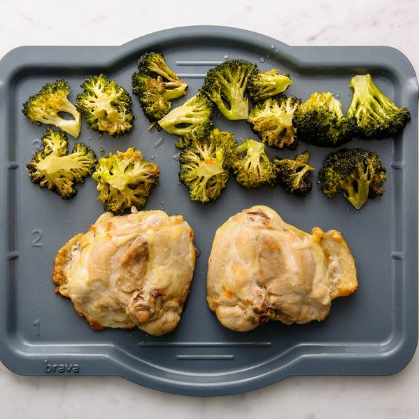 Chicken Thighs and Broccoli narrow display