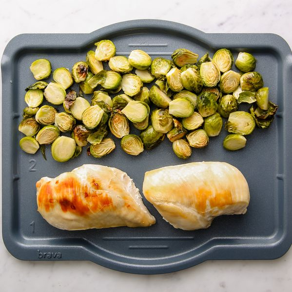 Chicken Breasts and Brussels Sprouts narrow display