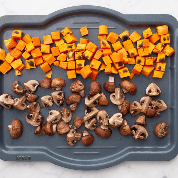 Sweet Potatoes and Mushrooms narrow display