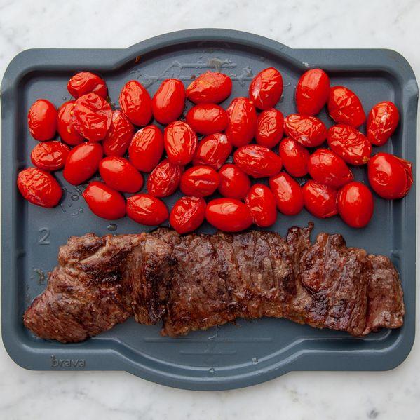 Skirt Steak and Cherry Tomato narrow display