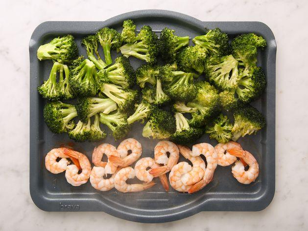 Shrimp & Broccoli wide display