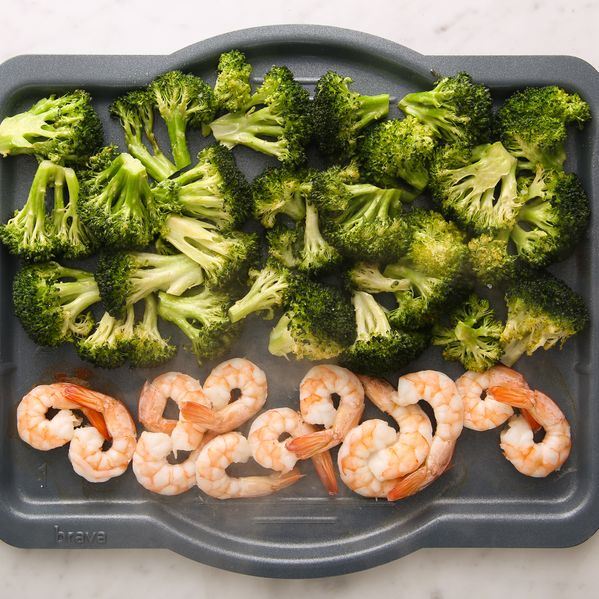Shrimp and Broccoli narrow display
